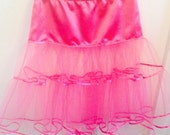 Special OrderCustom Made Hot Pink Petticoat - Destined for Canada!