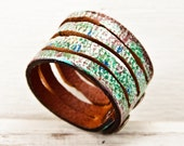 Leather Jewelry Cuff Bracelet, Handmade Finds, Original Designs, February Gifts, Winter Trends, Rain Wheel, Presents For Her