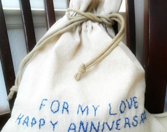 Cotton Anniversary Gift For Him