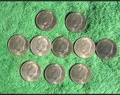 "Hidden Coins""  / 10 / 1972   Eisenhower Dollar coins"