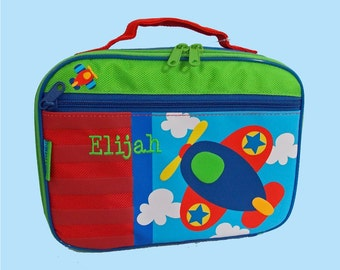 Personalized Stephen Joseph AIRPLANE Lunchbox