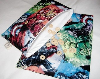 More Avengers Sandwich and Snack Bag Set, Reusable