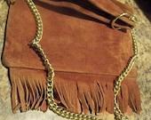 strathmore of forfar Scotland fringe purse