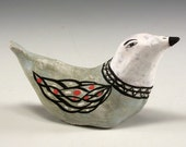 Randy - Ceramic Bird Sculpture by Jenny Mendes