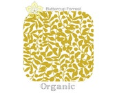 ORGANIC Changing Pad Cover { First Light Citron Branch }