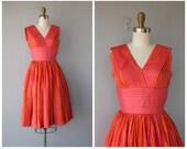 1950s Party Dress | 50s Cocktail Dress | Vintage 50s Dress | 1950s Dress | 1950s Anne Fogarty Dress | 50s Silk Dress