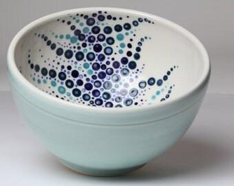 Porcelain Mint Green Celadon Bowl - Cereal Bowl Size