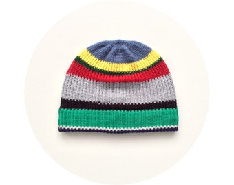 Beanie hat, colourful warm winter accessory FREE SHIPPING