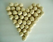 25 Eco Friendly Recycled Plantable Seed Paper Seed Bombs Wild Flower Mix