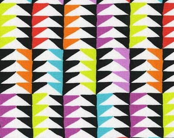 SALE - Michael Miller - Melodies Collection - Triangles in Brite