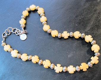 "AKD Maltese Cross Motorcycle Biker Necklace Necklace 17"" Unisex Vintage Jewelry Jewellery"