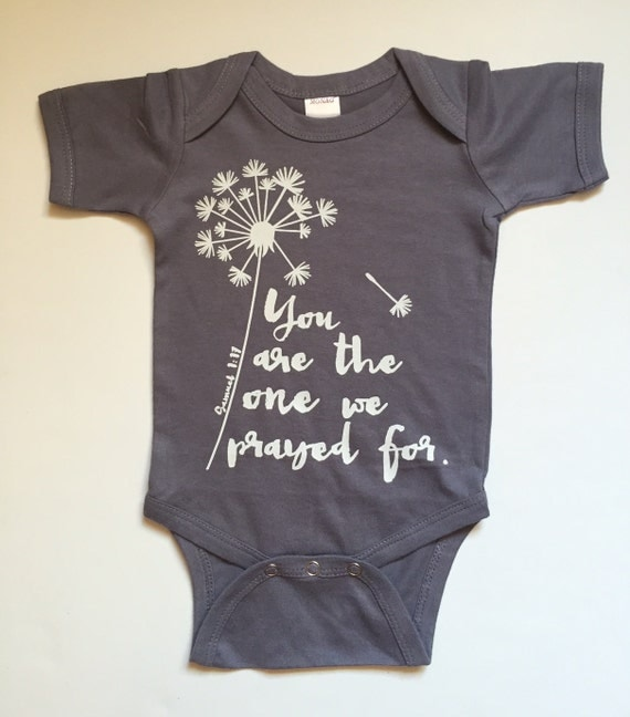 You Are The One We Prayed For Bodysuit Available In Various