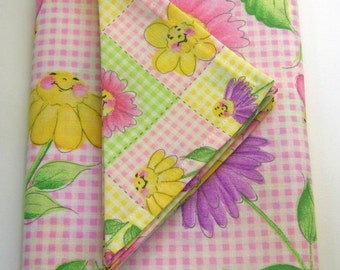 Ready Made for Immediate Shipment - Tablecloth and Napkins for Child's Table