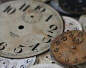 SALE clocks 5x7 photograph