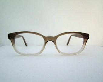 1960s Eyeglasses // 50s 60s Vintage Frames //  Fade out //  KALA eyewear / hand made  USA