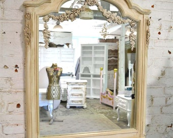Painted Cottage Chic Shabby French Mirror MR36