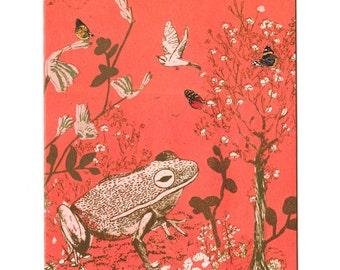 Woodlands Frog Greetings Card