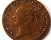 1800's PRINCE OF WALES Great Britain Prince of Wales Model Half Sovereign 1787 to 1887 Coin Token Charm Pendant