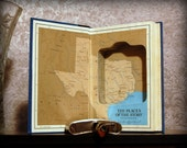Hollow Book Safe & Flask (Texas Vol. 1)