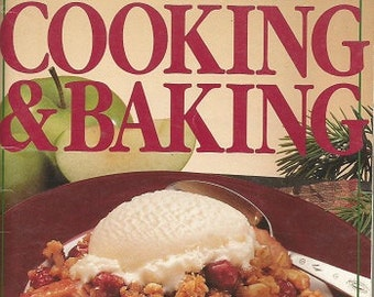 "Vintage Pillsbury ""Down-Home Cooking & Baking"" Cookbook"