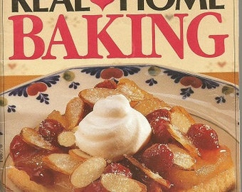 "Vintage Pillsbury ""Real Home Baking""  Cookbook"