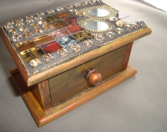 MOSAIC BOX, Treasure Box, Jewelry Box