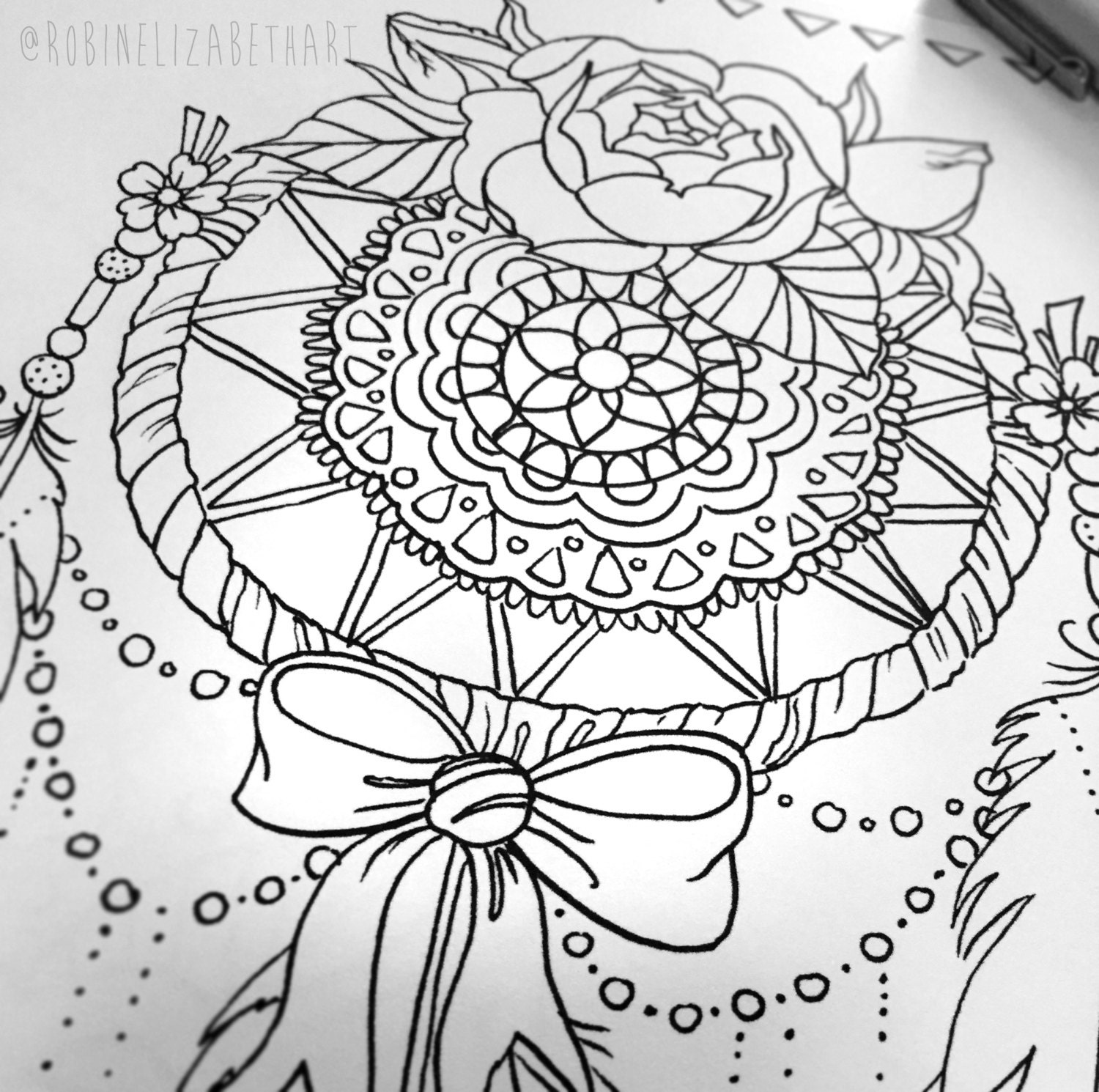 dreams coloring pages - photo#12