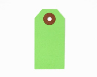 Little Green Shipping Tags (100)
