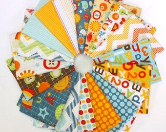 School Days Fat Quarter Bundle by Zoe Pearn - Riley Blake 18 FQs FreeSpirit Fabrics