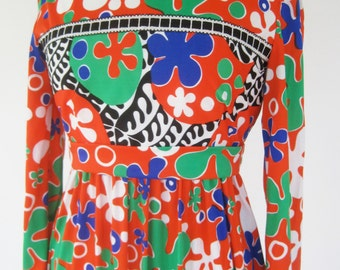 Vintage 70s Mod Dress Joan Leslie by Kasper