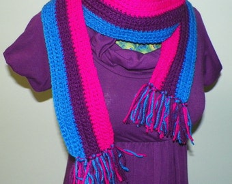 Scarf Bisexual Pride Made to Order