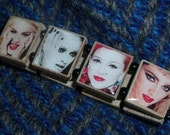 MADONNA Scrabble Tile Bracelet