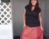 Handmade Dancin  Festie Skirt...Stars...Made to Fit Many...Up to Plus size