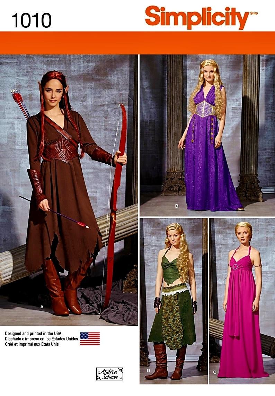 Warrior Elf Costume Pattern Elf Princess Costume Pattern