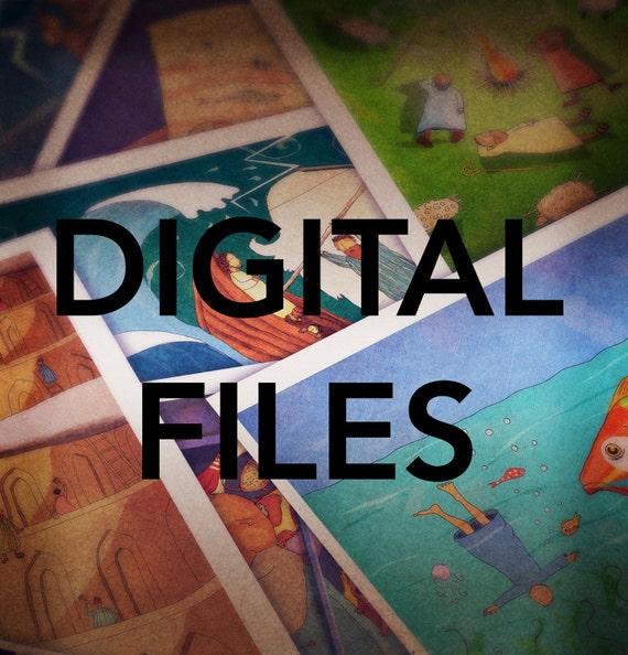 The Jesus Storybook Bible - All 167 Digital Files - HUGE DISCOUNT