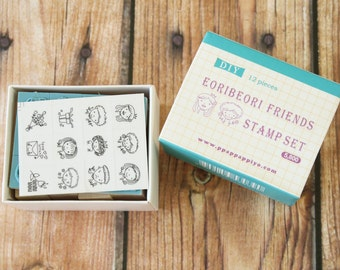 FOREVER FRIENDS Ppappappiyo DIY stamps set
