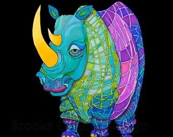 The Plaid Rhinoceros