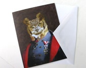 Captain Strigiformes - Note Card