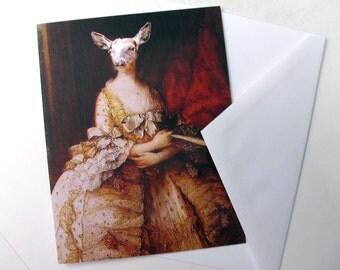 Capra Aegagrus Hircus - Note Card