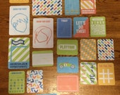 We R Memory Keepers PLAYTIME project life cards - set of 25