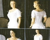 SZ 14/16/18/20 - Simplicity Costume Pattern 7215 - Misses' Chemise and Corset - Martha McCain