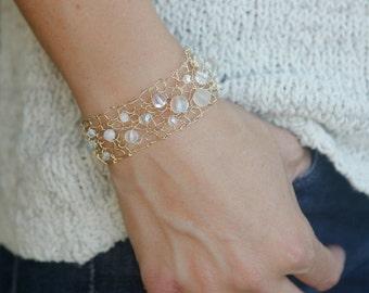 moonstone bracelet dainty bracelet skinny cuff bracelet rainbow moonstone jewelry aurora borealis gold delicate bracelet fast shipping