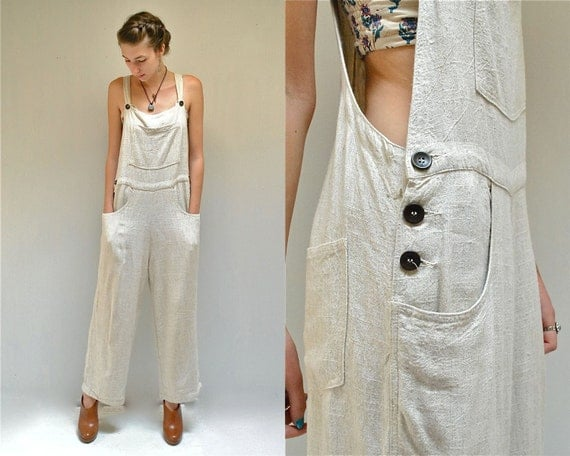 Reserved Linen Overalls Womens Overalls The Flax