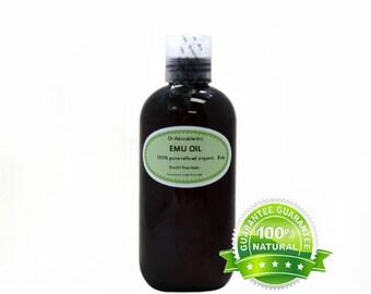 8 oz Emu Oil 100% Pure Fresh From Australia Natural Organic