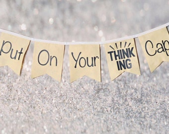 Put on Your Thinking Cap Banner