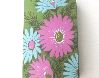 Vintage Flower Illustrated Playing Cards, Full Deck