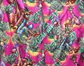Giraffe Fabric Jungle Cotton Quilting Material