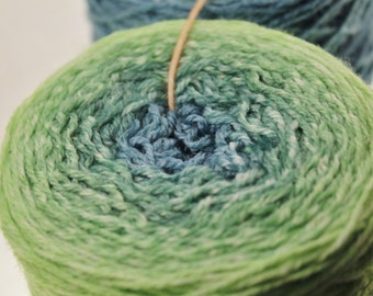 Dyed for You Handpainted Gradient Yarn Fingering Ombre  -  Springtime for Jenn