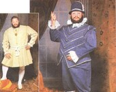 OOP King Henry Simplicity pattern 9633 doublet uncut factory folded Andrea Schewe XL/XXL free shipping within the United States