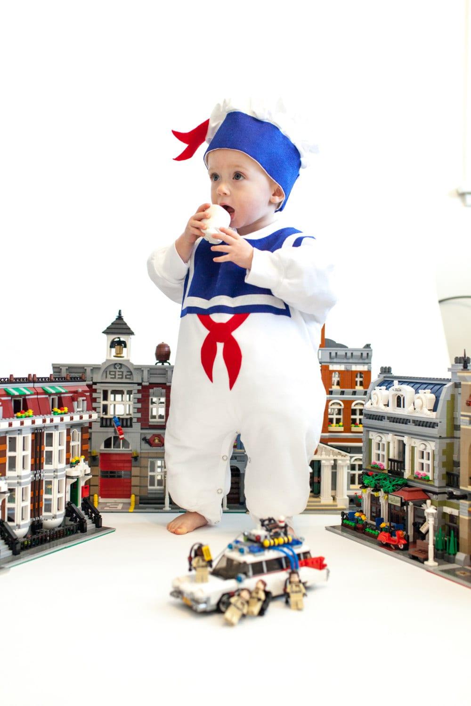 kleinkind halloween kost m marshmallow mann kinder kost m. Black Bedroom Furniture Sets. Home Design Ideas